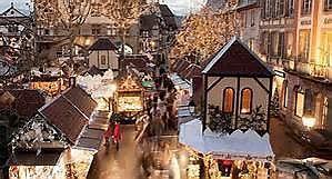 Colmar Weihnachtsmarkt.Wicki Carreisen Weihnachtsmarkt Colmar